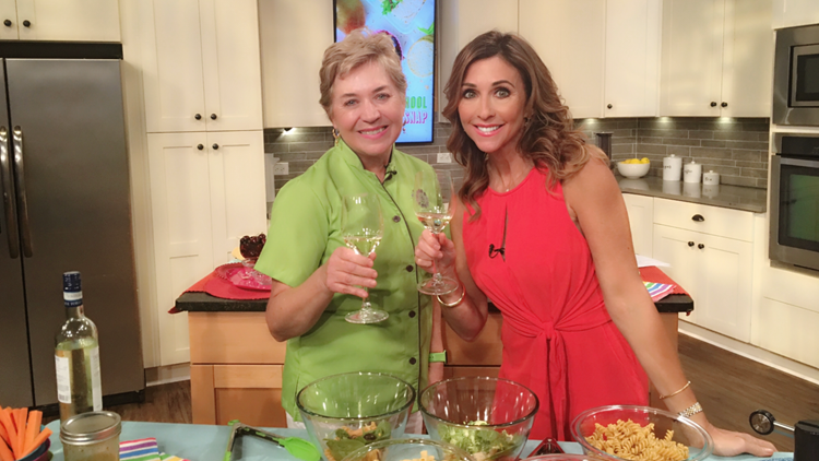 Chef Nancy Waldeck and Christine Pullara on A&C