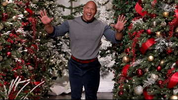 Dwayne Johnson calls Kevin Hart a 'scaredy cat' on Ellen show