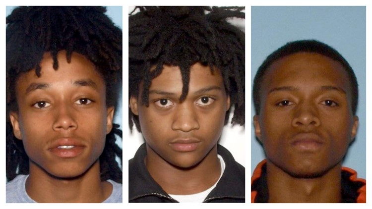 Suspects wanted for murder after woman found in burning car in Lawrenceville
