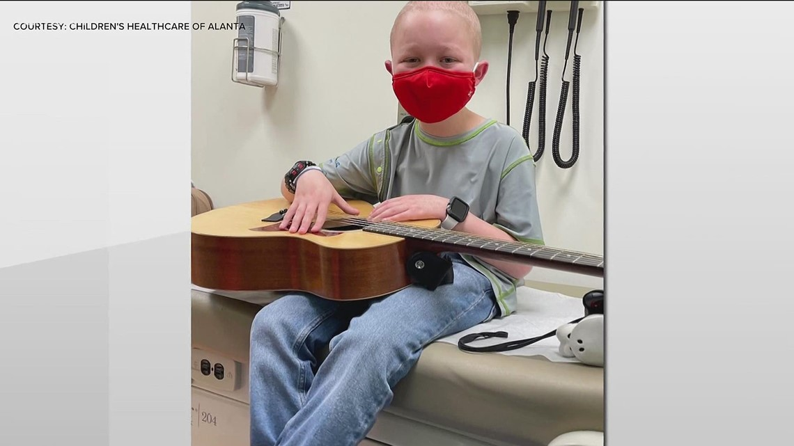 Music therapy offers comfort to kids at Children's Healthcare of Atlanta