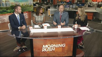 Morning Rush anchors react to NFL player's fine over 'Man of God' headband