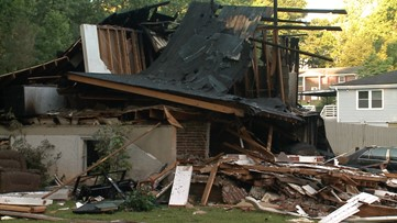 'I thank God so much,' says Austell father, son recovering after home explosion