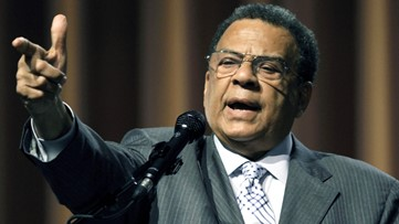 Different Ambassador Andrew Young contracts COVID-19 - but not the one from Atlanta