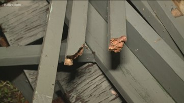 Deck collapse injuries family in Rockdale County
