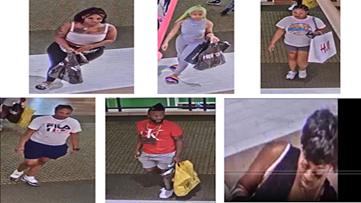 Group steals $2700 worth of items from Victoria's Secret