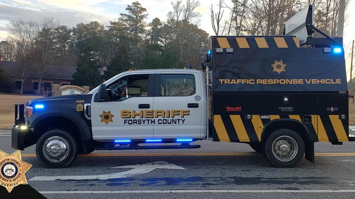 New truck assists Forsyth County roads during rush hours