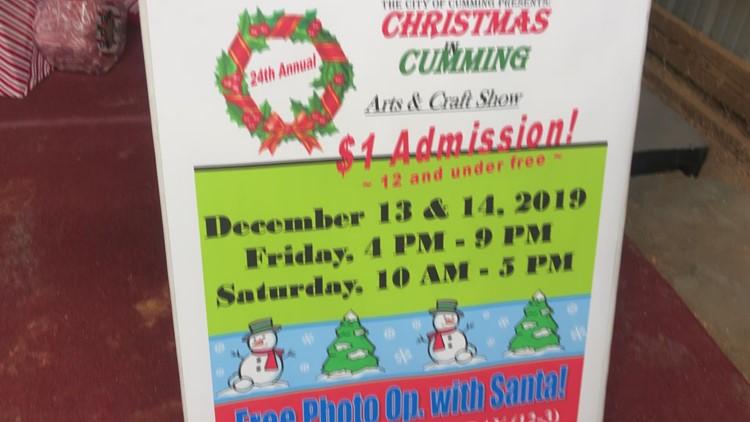 Christmas in Cumming Craft Fair