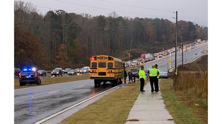 Forsyth co bus crash