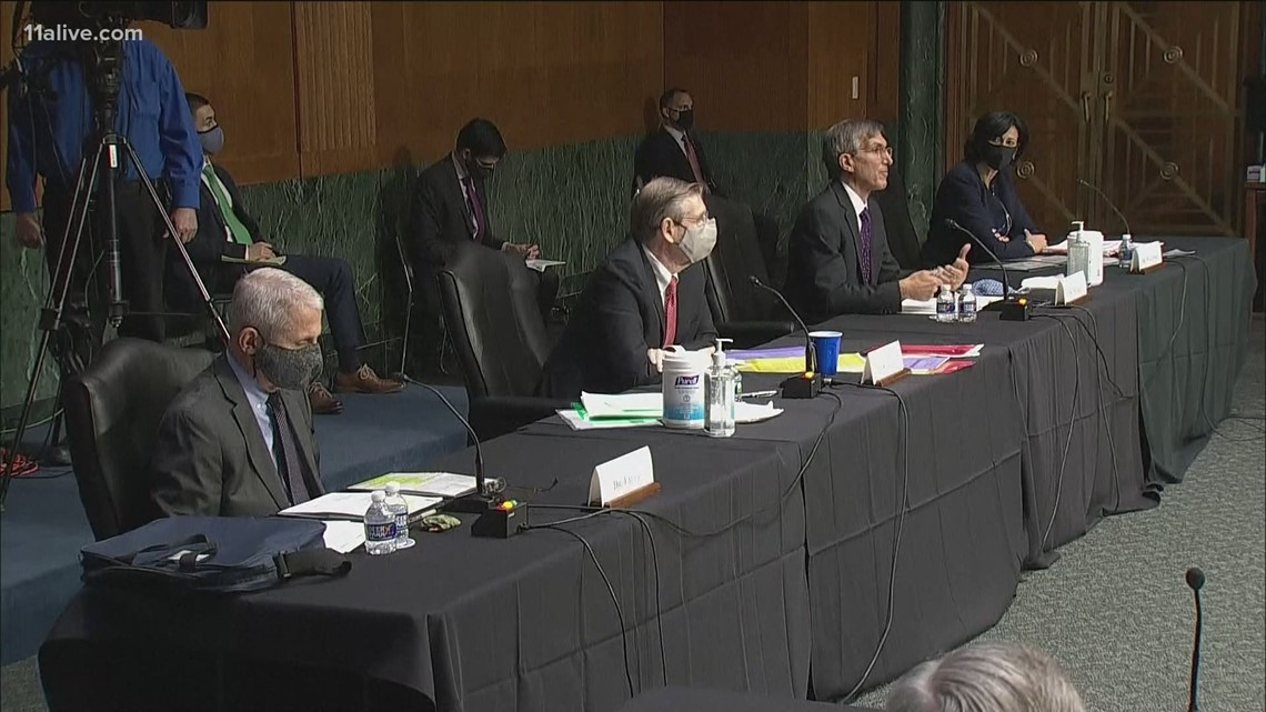 Health experts testify before Senate on COVID-19 and vaccine efforts
