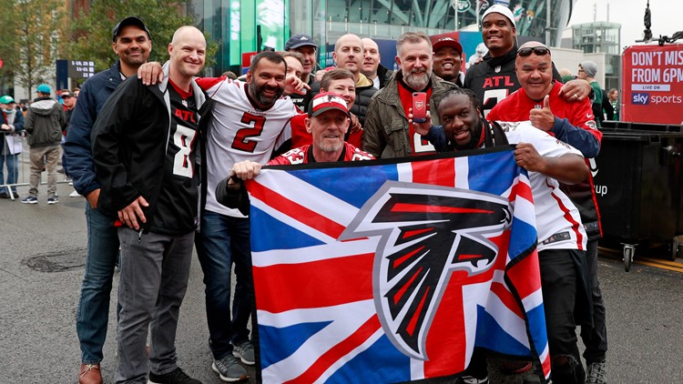 Falcons claim second win with victory over Jets in London