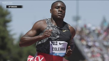 Christian Coleman, metro Atlanta Olympian, cleared of doping violation