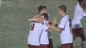 Lambert Longhorns win soccer state championship