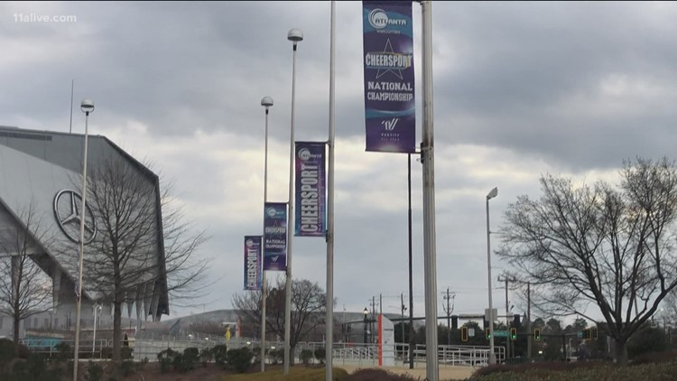 Cheerleading championship expected to lure 40,000 people to Georgia World Congress Center