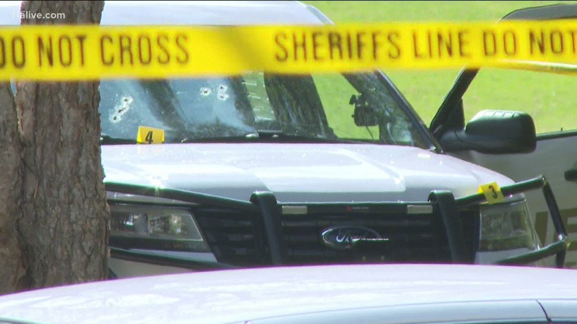 Suspect critical after exchange of gunfire with deputy in Coweta County