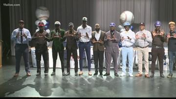 11 Redan seniors signing scholarships, to play college baseball
