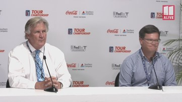PGA TOUR Championship officials said players, volunteers evacuated during storm, but not all fans got message