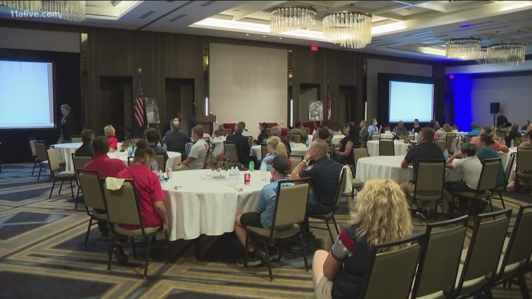 Atlanta Braves pause to remember 9/11 victims