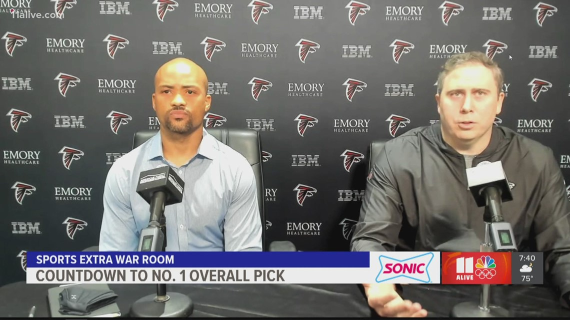 Falcons GM talks about plans for No. 4 pick in draft