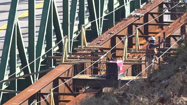 Browns Bridge replacement underway