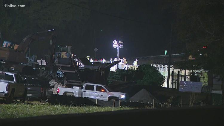 1 dead in Newton County bridge collapse
