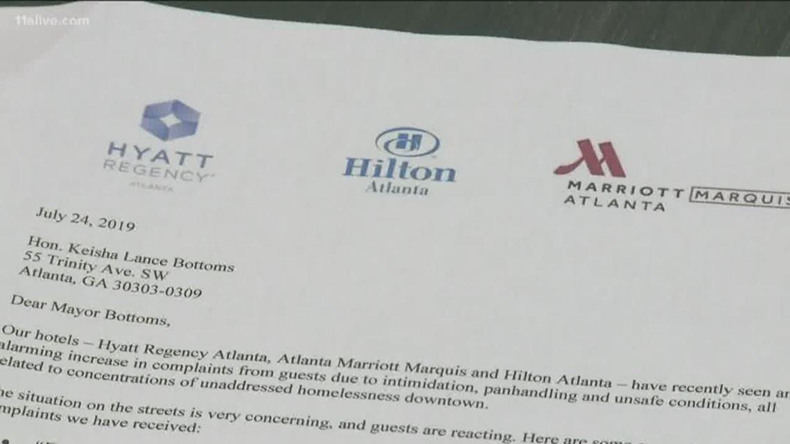 Major Atlanta hotels ask city to address aggressive panhandling amid guest complaints