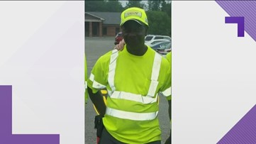 She was heartbroken to find her service dog dead. A GDOT worker comforted her in her time of need.