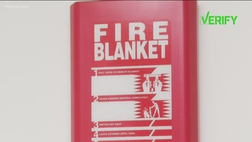 VERIFY: Are fire blankets a good option for home safety?