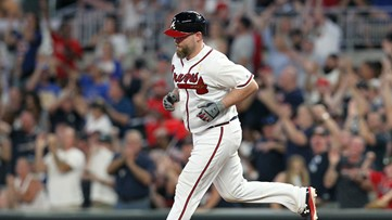 Former Braves to throw, catch first pitch for Game 1 of World Series in Houston