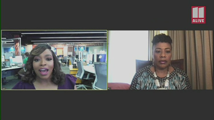 Conversation with Bernice King, daughter of MLK, following guilty verdict in George Floyd case