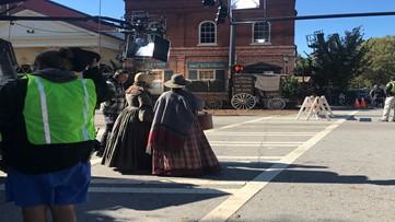Crews film Amazon Prime show 'Underground' in Madison