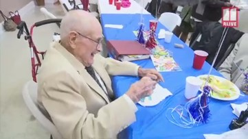 Marietta man turns 103