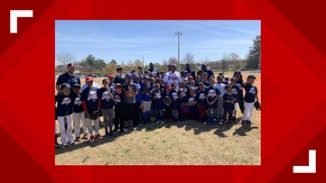 Former Braves players step up to the plate with encouragement for East Point youth