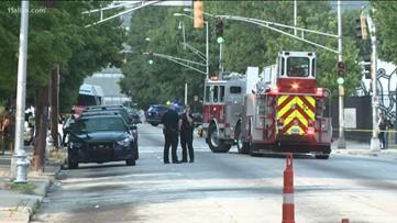 Greyhound bus station evacuated due to bomb threat