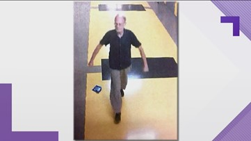 Police looking for man seen walking halls of Renfroe Middle