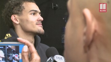 Hawks' Trae Young on not closing the deal in regulation