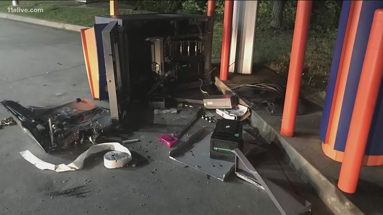 ATM burglary in Cobb County investigated