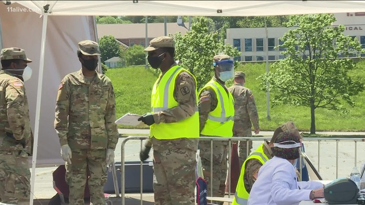 Metro Atlanta hospital requests National Guard to help with COVID-19 patients