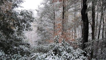Snow, rain ends; Colder weather moves in