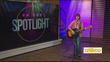Country artist Hunter Flanagan performs on A&C