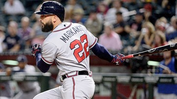 Atlanta Braves re-sign outfielder Nick Markakis before Spring Training