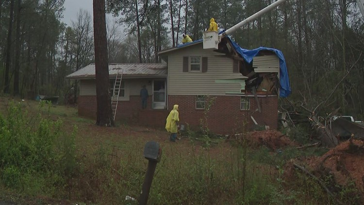 Cedartown Storm Damage