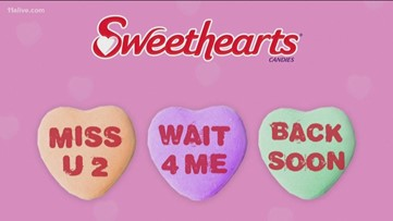 Sweethearts candy missing from store shelves