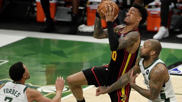 Hawks fall short in Game 5 against Bucks; Final score 123-112