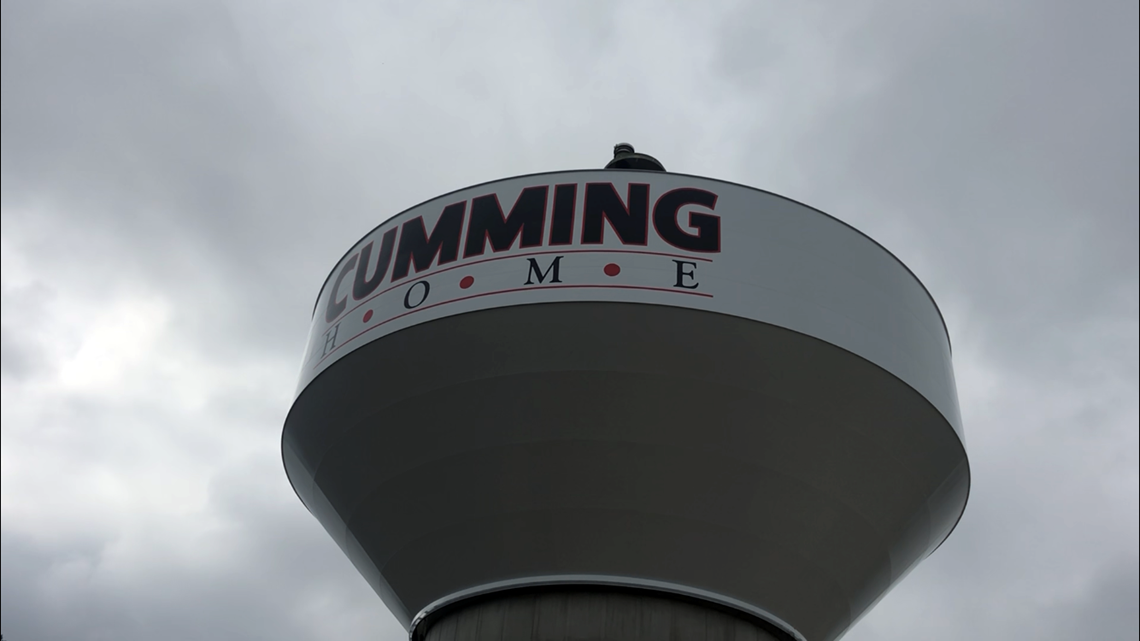 New water tower welcomes drivers 'Cumming Home'