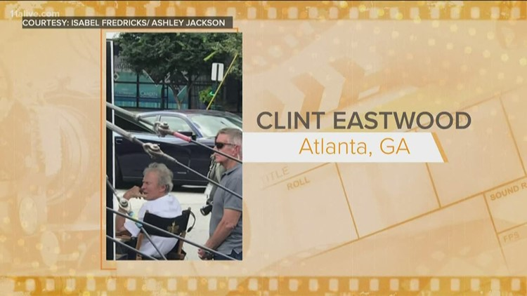 Clint Eastwood spotted filming in Buckhead