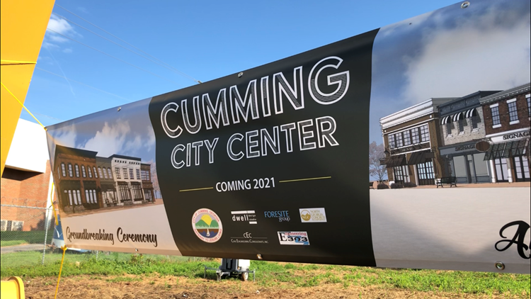 Cumming City Center 2019