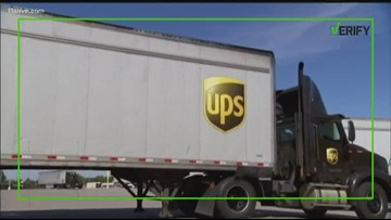 VERIFY: Is UPS using personal vehicles to help with holiday deliveries?