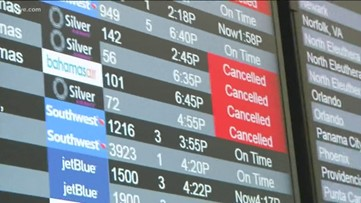 More than 800 flights expected to be canceled today over Dorian