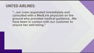 United flight passenger bound for Atlanta stung by scorpion