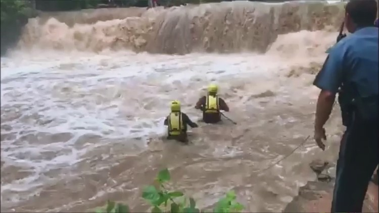 Firefighters describe 'extreme chaos' of Alcovy River rescue